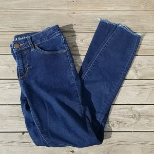 Articles of Society Sarah cut off hem elm jeans